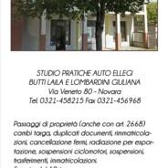 Studio Pratiche Auto – Butti Laila e Lombardini Giuliana