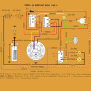 Schema elettrico Vespa 50 Elestart – V5A 3