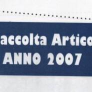 giornalino 2007