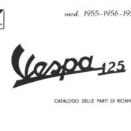 Manuale Vespa VN1 T 1955 – 1956 – 1957