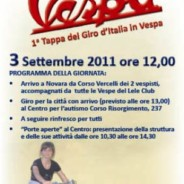 3 Settembre 2011 Tappa giro D'Italia vespistico