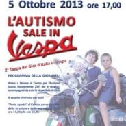 5 ottobre 2013 ultima tappa del giro d'Italia per l'Autismo