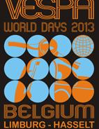 Giugno 2013 Vespa World Days Hasselt Belgio