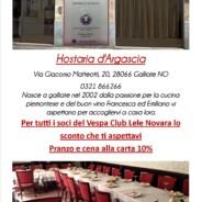 Hostaria D'Argascia -Galliate –
