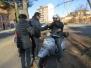 6/01/2017 Motobefana benefica in Vespa