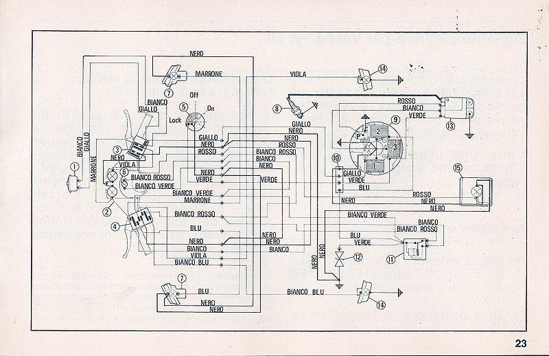 Schema Elettrico Vespa Pk 50 Xl : Schema elettrico pk s fare di una mosca